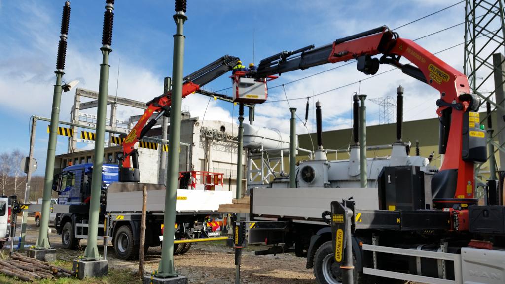 Budowa SE 400 110 kV Żydowo- Kierzkowo
