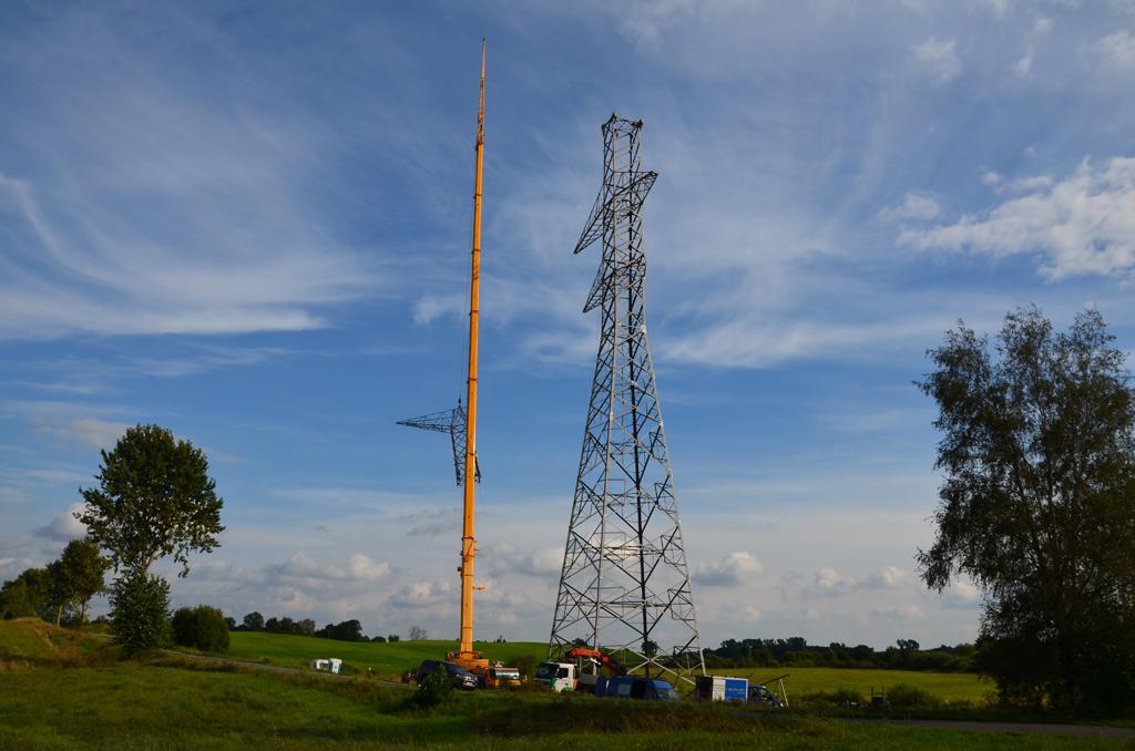 Budowa linii 400 kV Ełk Bis- Granica RP